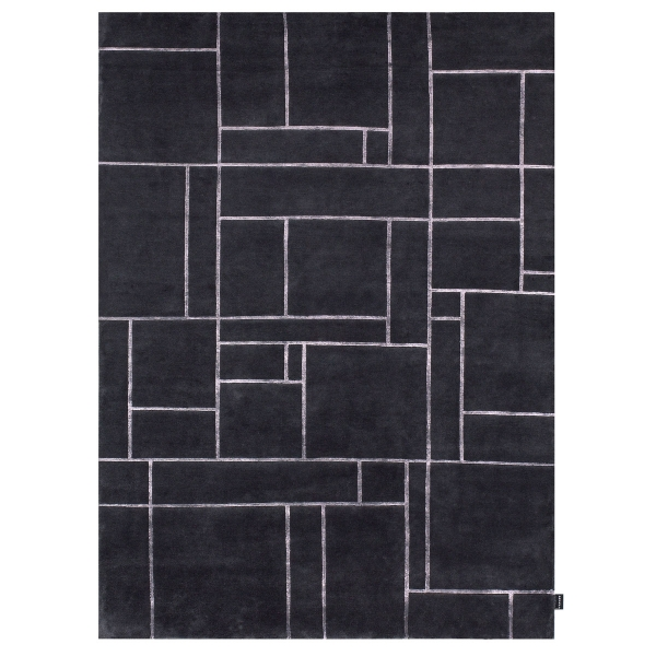grand tapis gris ardoise bali par angelo. Black Bedroom Furniture Sets. Home Design Ideas