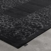 Grand tapis Sydney gris argent par Angelo 200 x 300 cm