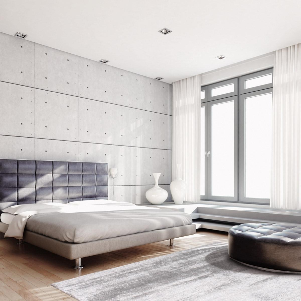 Grand tapis silky gris argent par angelo 200 x 300 cm for Grand tapis salon