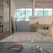 Grand tapis Annapurna gris cendré par Angelo