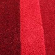 Tapis Pebbles rouge par Angelo