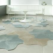 Dalle de tapis auto adhérente Vorwerk Bloom (10 couleurs au choix)