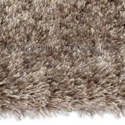 Grand tapis shaggy uni beige par Arte Espina en 200 x 300 cm