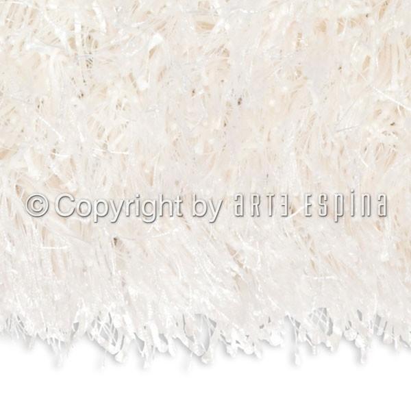 tapis moderne shaggy beat blanc arte espina. Black Bedroom Furniture Sets. Home Design Ideas