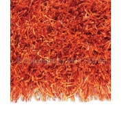 Tapis Longues Mèches Beat Orange par Arte Espina