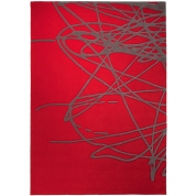Tapis Design Rouge Esprit Home