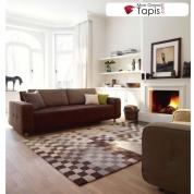 Tapis Damier Multicolore Esprit Home