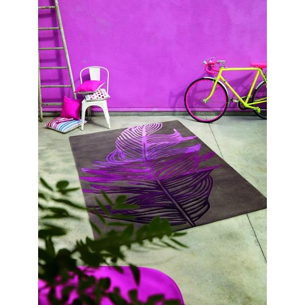 Tapis Rectangulaire Violet