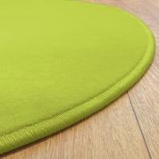 Tapis Rond Vert anis Modena jusqu'à 4 mètres de diamètre