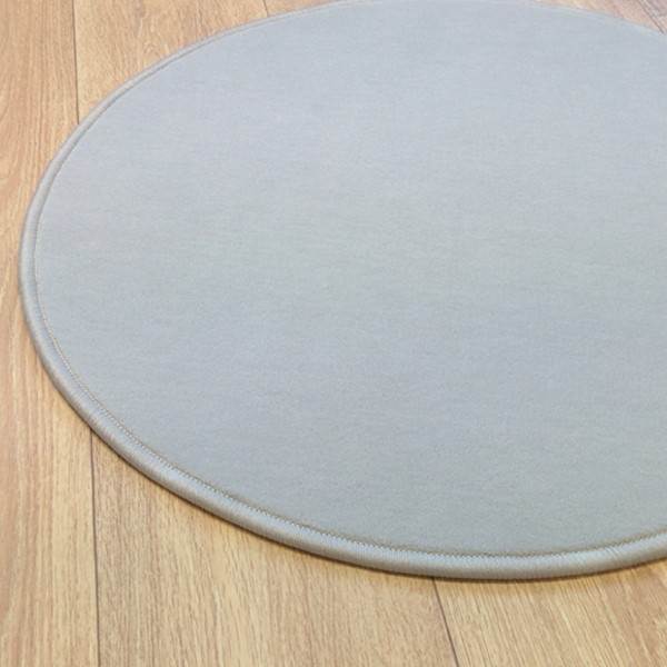 Grand tapis rond gris Grand tapis clair