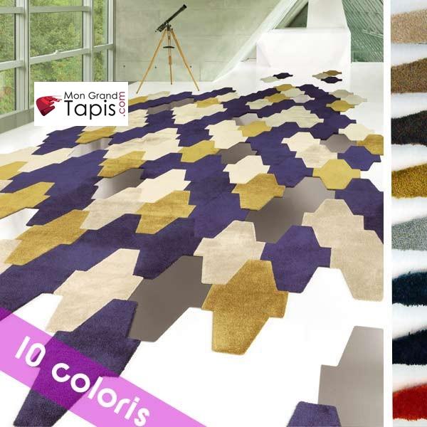 dalle de tapis modulable scale living mesh vorwerk. Black Bedroom Furniture Sets. Home Design Ideas