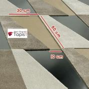 Dalle de tapis auto adhérente Scale Living Cut par Vorwerk