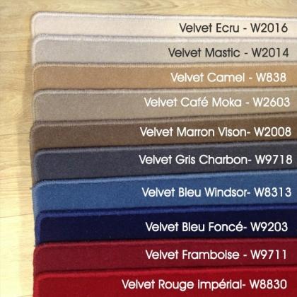 Echantillon du tapis en laine Velvet