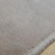 Tapis sur mesure en laine couleur Mastic