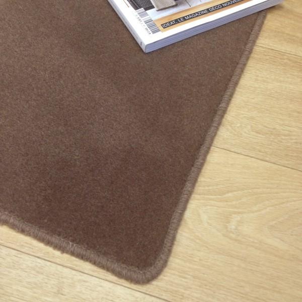 tapis sur mesure en laine couleur marron vision. Black Bedroom Furniture Sets. Home Design Ideas