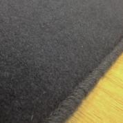 Tapis sur mesure en laine couleur Gris charbon