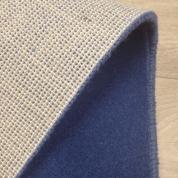 Tapis sur mesure en laine couleur Bleu window