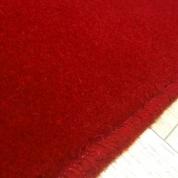Tapis sur mesure en laine couleur Rouge impérial