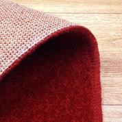 Tapis sur mesure en laine couleur rouge chiné gamme York Wilton