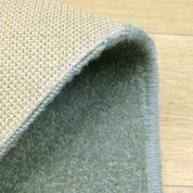 Tapis sur mesure en laine couleur Bleu clair gamme York Wilton