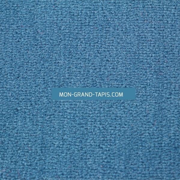 tapis sur mesure rond bleu modena par vorwerk. Black Bedroom Furniture Sets. Home Design Ideas