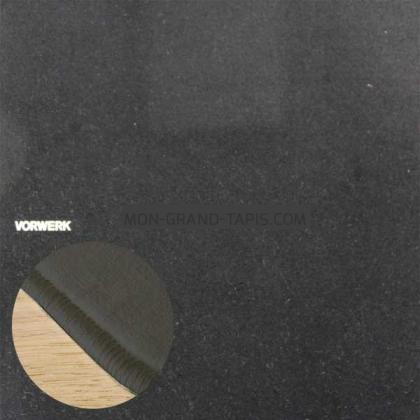Tapis sur mesure Noir Modena par Vorwerk