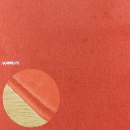 Tapis sur mesure Orange Corail Modena par Vorwerk