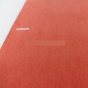 Tapis sur mesure rond Orange Corail Modena par Vorwerk