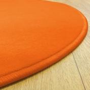 Tapis sur mesure rond Orange Modena par Vorwerk
