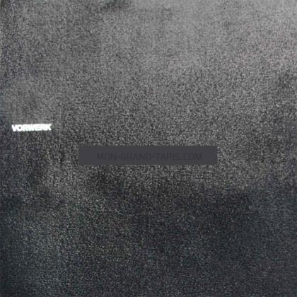 Tapis sur mesure Noir gamme Safira par Vorwerk