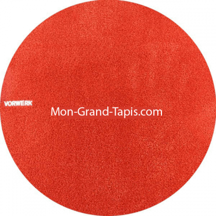 Tapis sur mesure rond Orange gammeSafira par Vorwerk