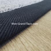 Tapis sur mesure en laine gansé gris par Mon Grand tapis sélection