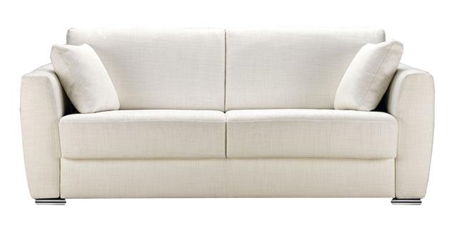 Grand canapé blanc