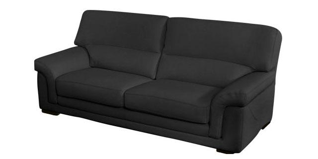 Canapé confort noir
