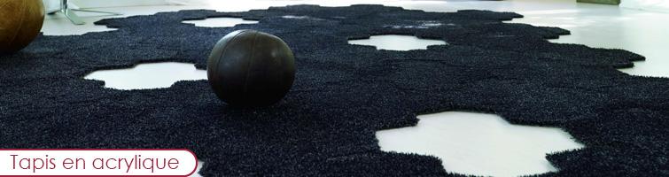 Entretien tapis en acrylique